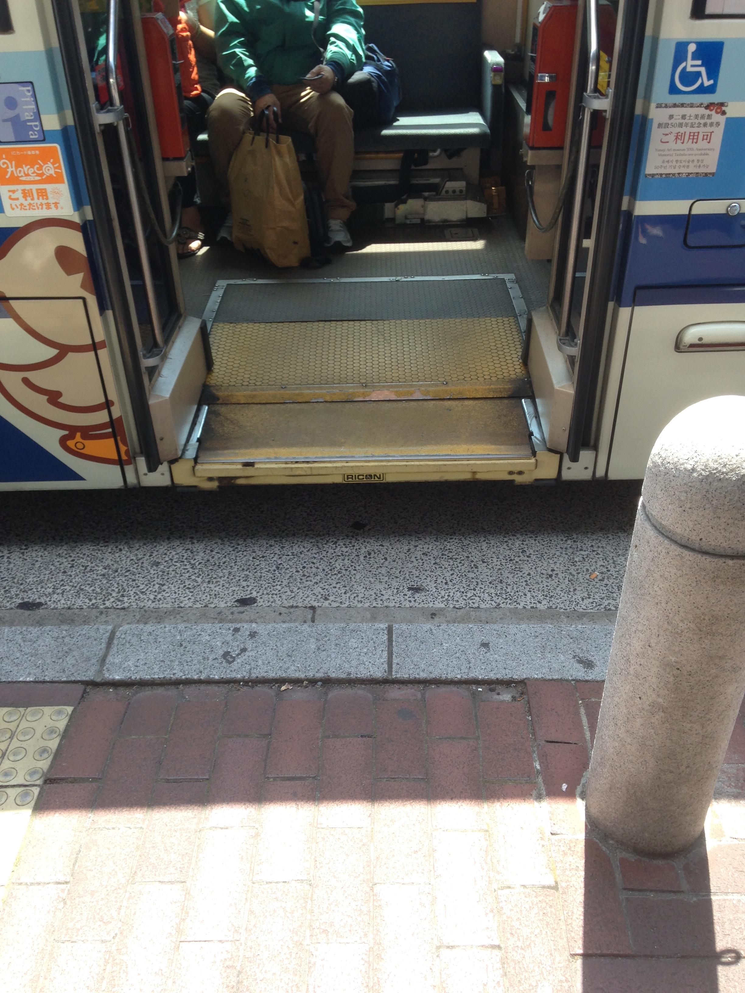 岡電バス_ノンステップ